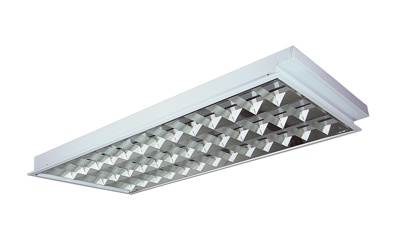 Louver plaster or tbar ceiling louver reflector sangchai lighting louver recess mounted rotate locked lampholder aloadofball Choice Image